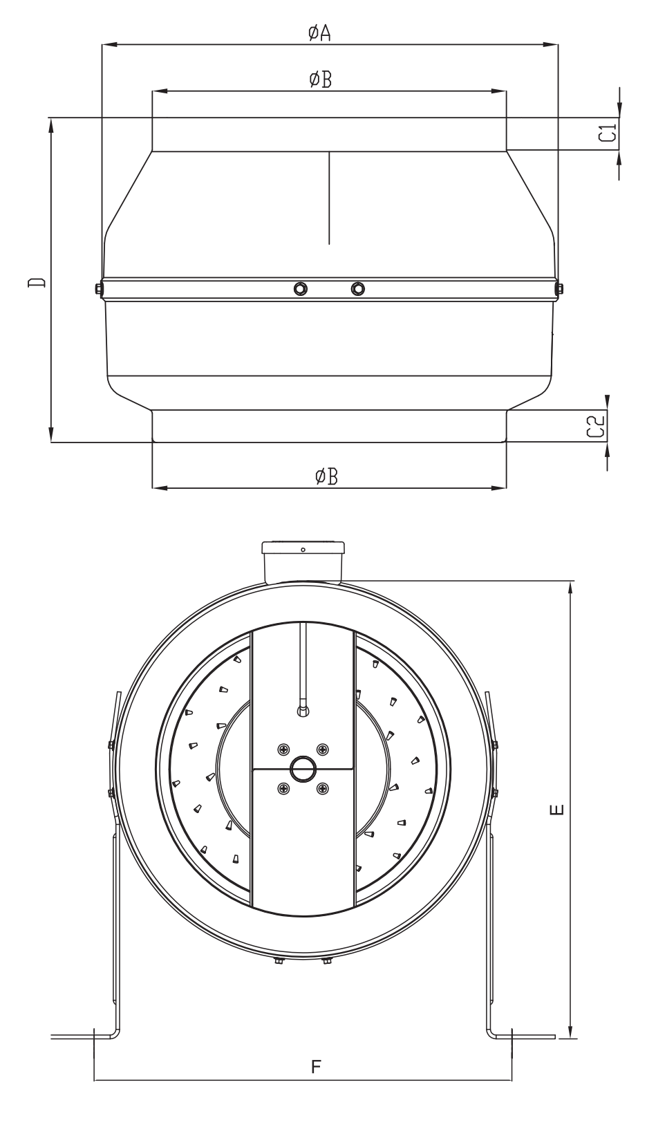Габаритные размеры Bahcivan BDTX 315 b
